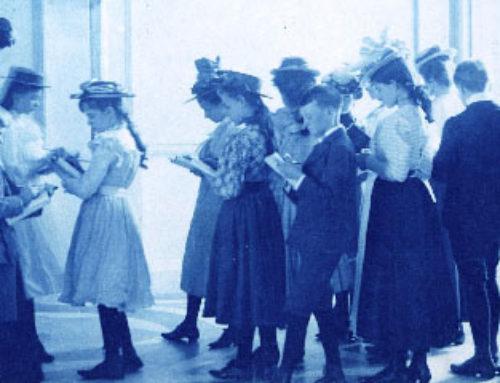 Cyanotypie au tournant de 1900